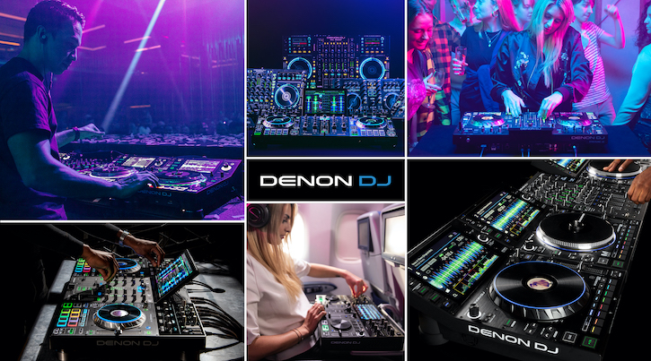 Denon DJ Equipment