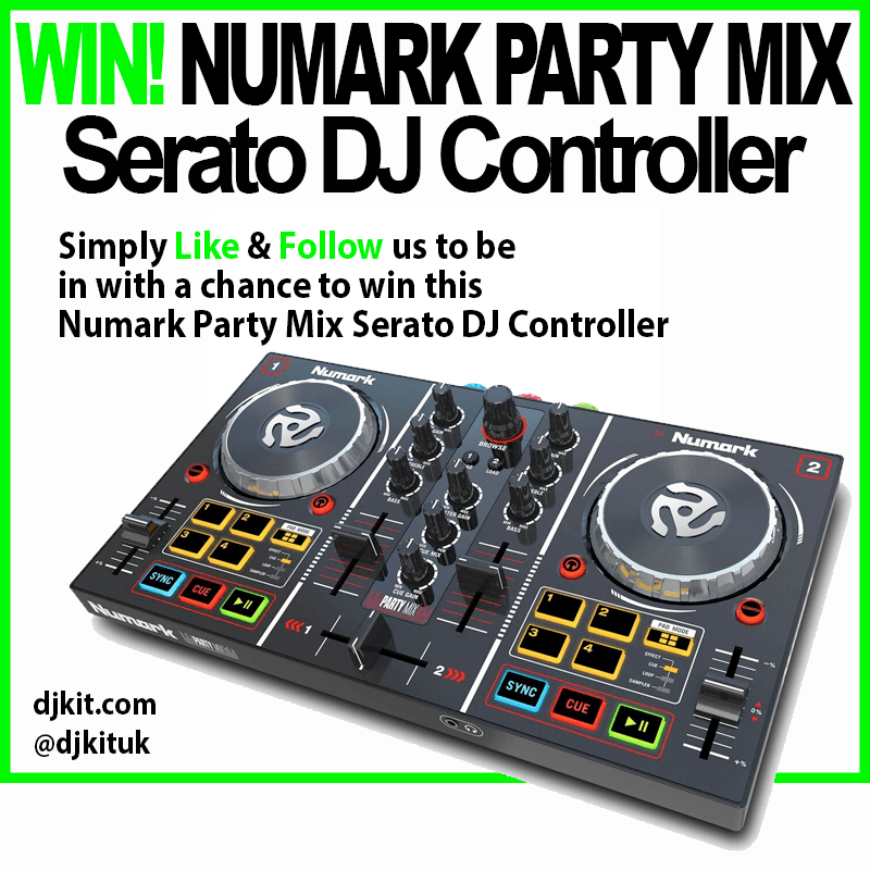 WIN a Numark Party Mix Serato DJ Controller!